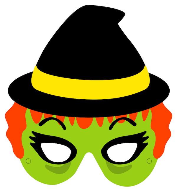 Mask clipart halloween mask Halloween Printable Free Masks Printable