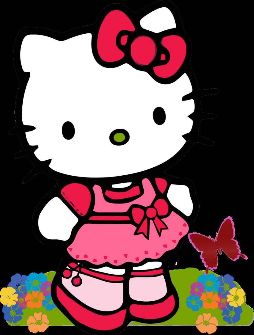 Mask clipart hello kitty Hello com Gambar Kitty Hello