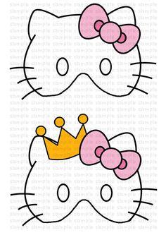 Mask clipart hello kitty Inspired Hello Kitty kitty Printable