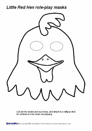 Mask clipart hen Red Printables Play Hen (SB2016)
