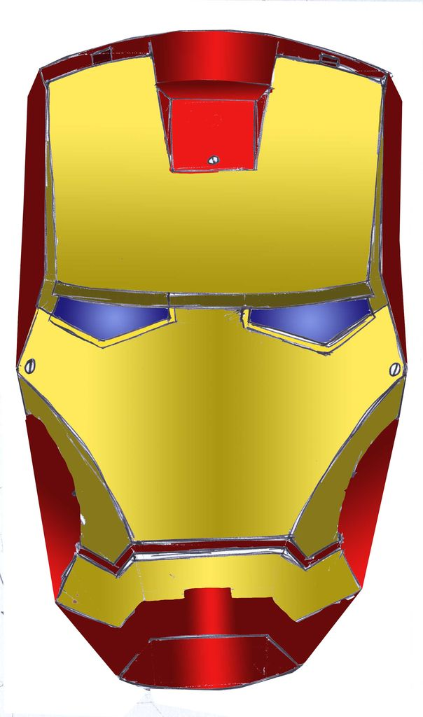 Mask clipart iron man Free Clipart Images Panda Iron