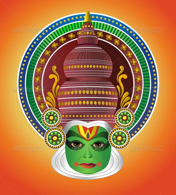 Mask clipart kathakali Indian South Kathakali Dancer Dancer