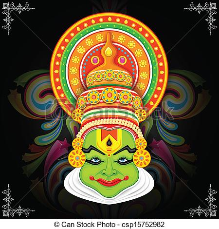 Mask clipart kathakali Clipart Colorful · Colorful Entertainment