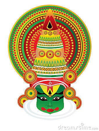 Mask clipart kathakali Females kathakali  Search Google