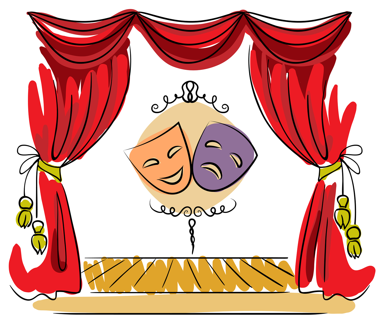 Theatre clipart theater play Drama Others Clipart Cliparts Stage