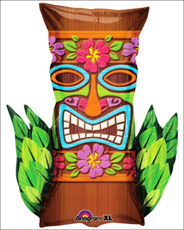 Mask clipart luau BALLOON Kings & TIKI LUAU