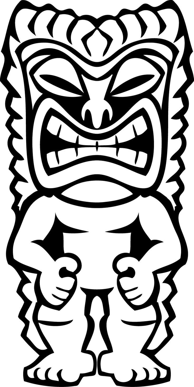 Mask clipart luau Tiki 20+ Clipart Art on