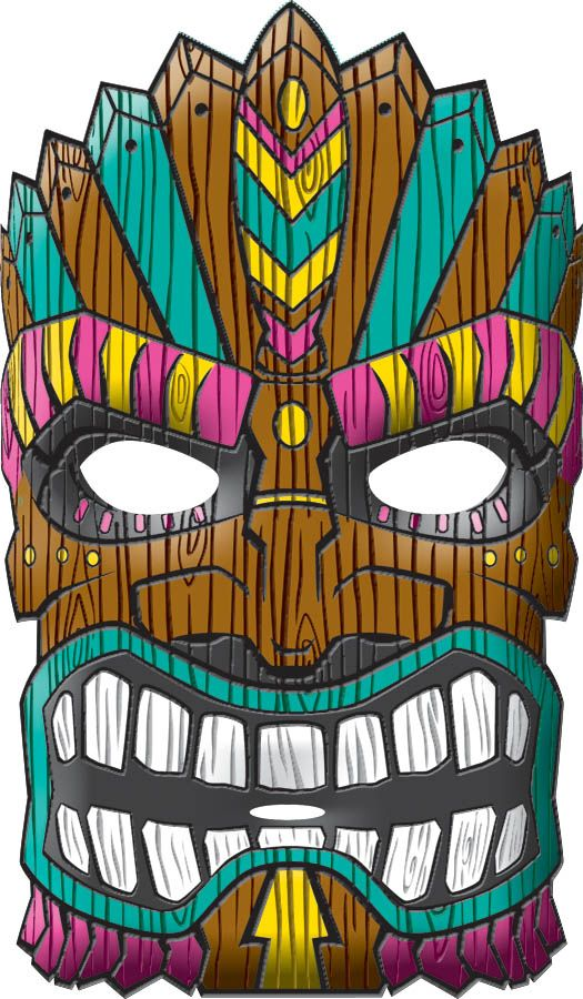 Mask clipart luau Pinterest party the ideas on