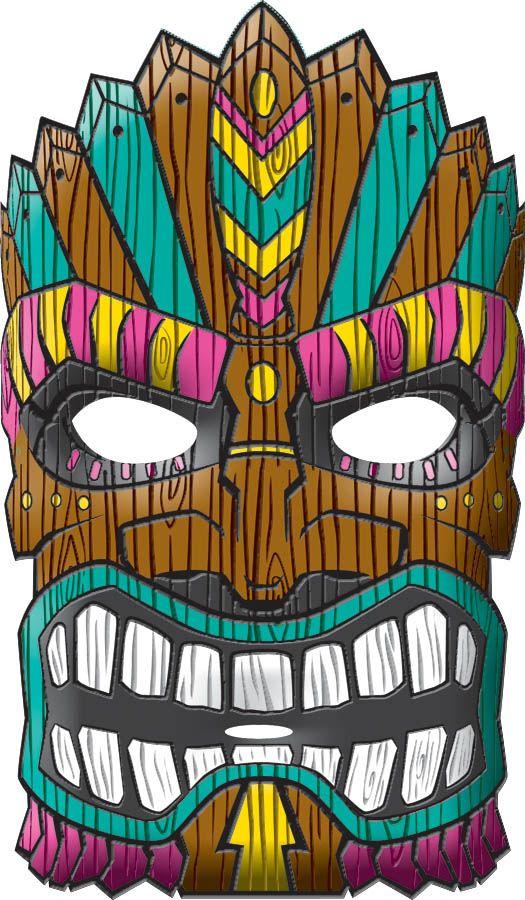 Mask clipart luau Pinterest let every a facade