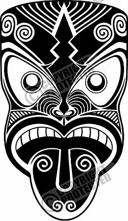 Mask clipart maori Free free clipart designs designs