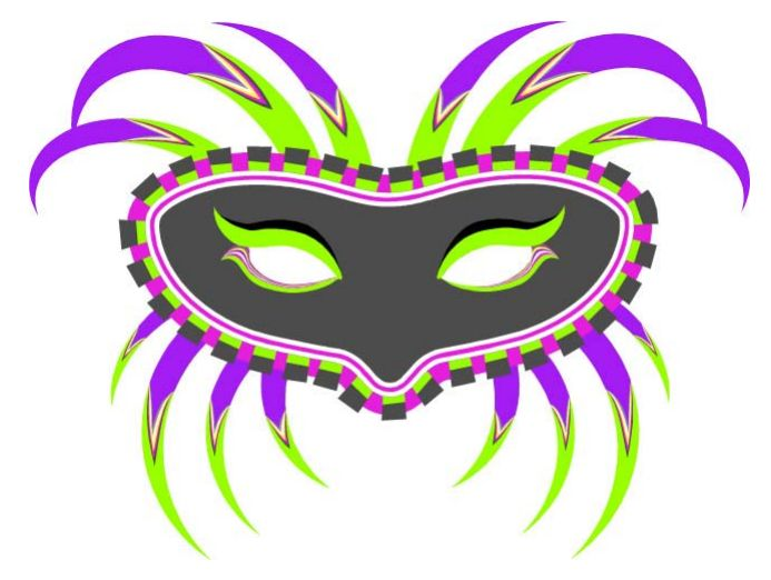 Mask clipart mardigras And  Free Printable Masks