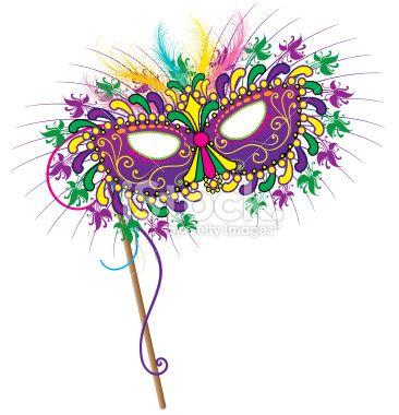Mask clipart mardigras Gras Mardi on art Mardi