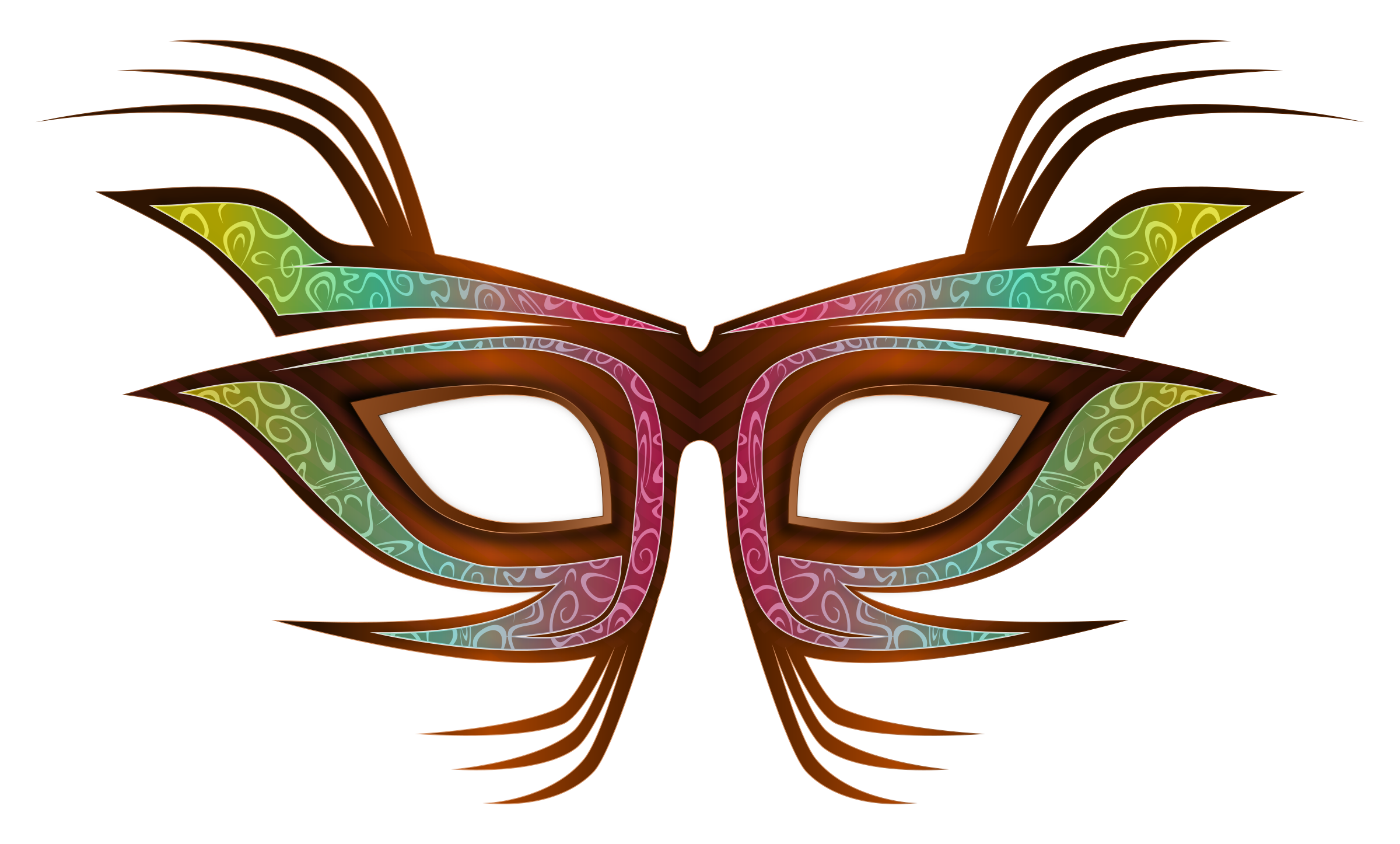 Masquerade clipart eye mask Clipart hostted mask hostted ClipartBarn