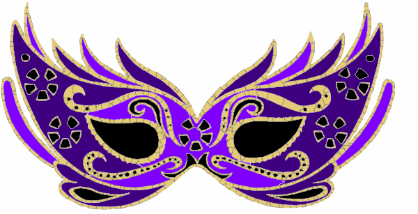 Masquerade clipart eye mask Image com Art Mask as: