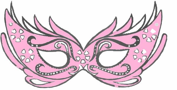 Masquerade clipart pink This com Masquerade as: image