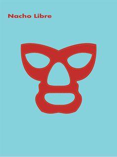 Mask clipart nacho libre Flickr Libre Feliz Nacho