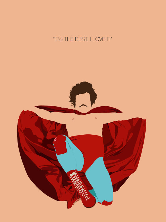 Mask clipart nacho libre This Minimalist Like Poster Inspired