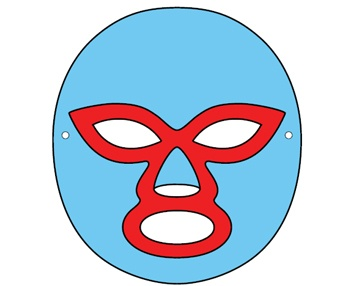 Mask clipart nacho libre Mask Pinterest Nacho Luchador on