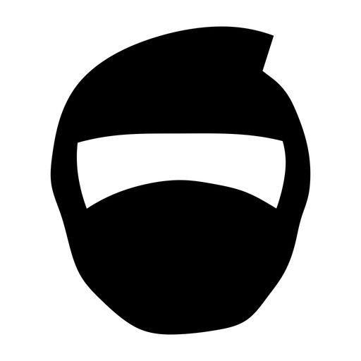 Mask clipart ninja On is to R ninja