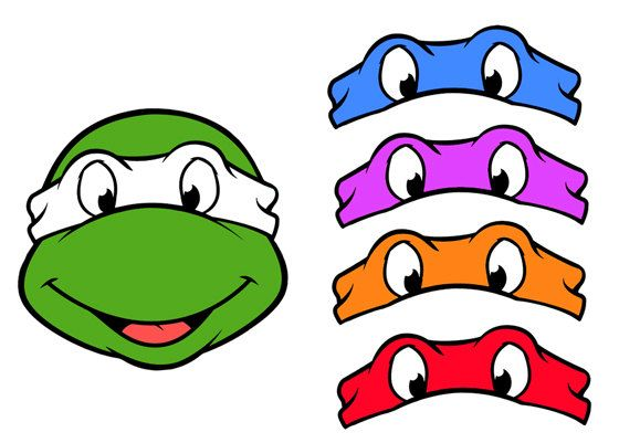 Mask clipart ninja Clip Ninja Printed Ninja Teenage