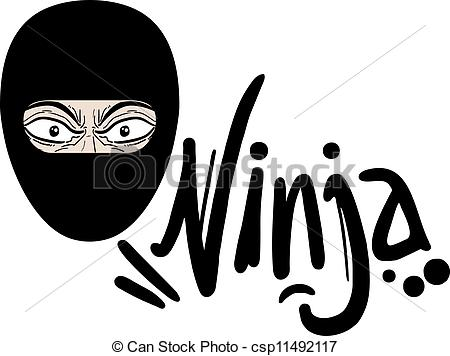 Mask clipart ninja Ninja csp11492117 Art of Mask