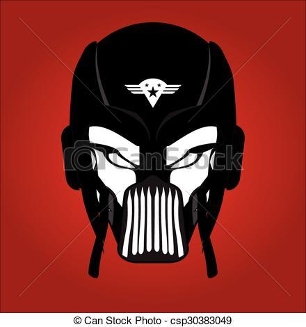 Mask clipart pilot Racer Free Black csp30383049 Mask