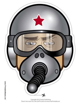 Mask clipart pilot Fighter Mask Face Out Mask