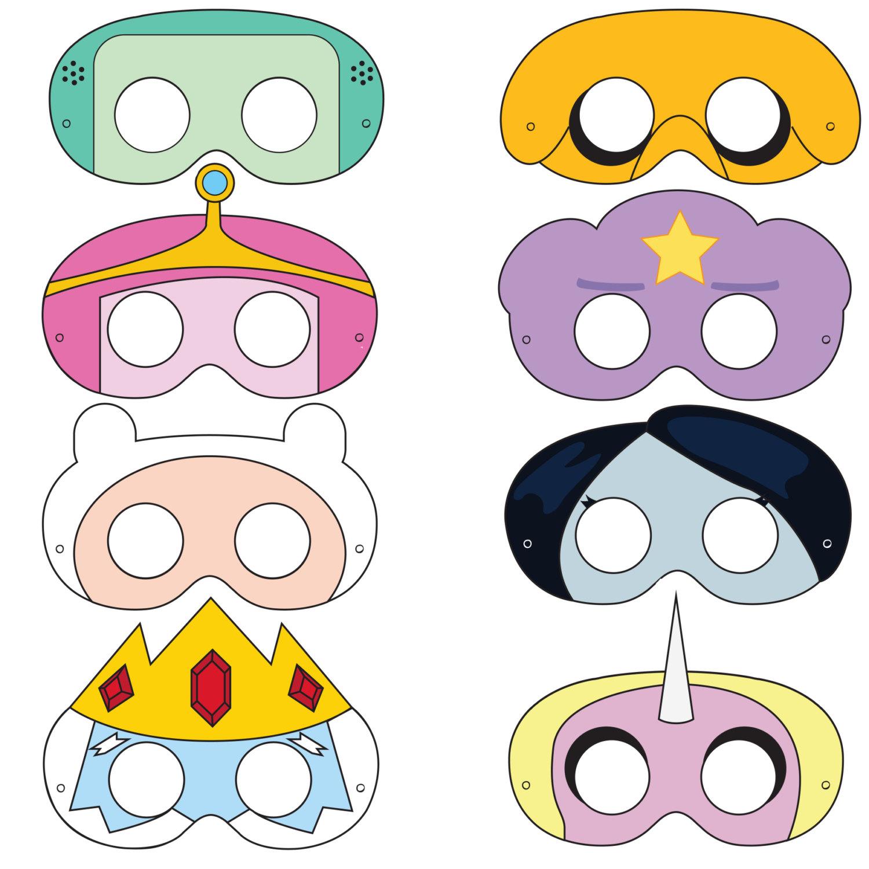 Mask clipart princess Mask Printable Etsy mask Adventurer