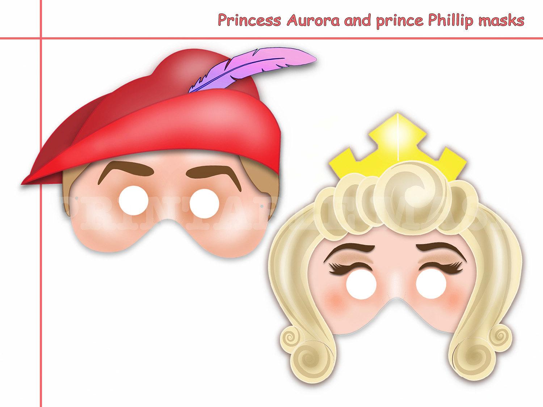 Mask clipart princess Masks Phillip Like Printable and