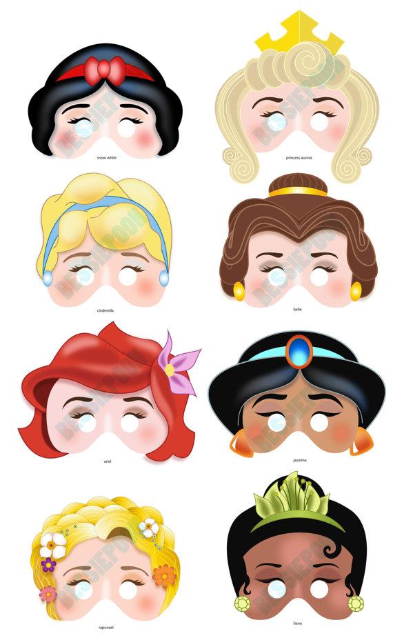 Mask clipart princess DISNEY Snow 7 PRINCESS Charming