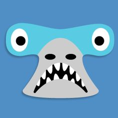 Mask clipart shark The white a now fun