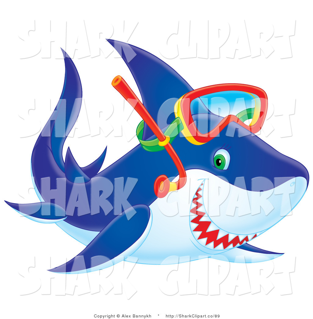 Mask clipart shark Royalty Designs Snorkel Mask Stock