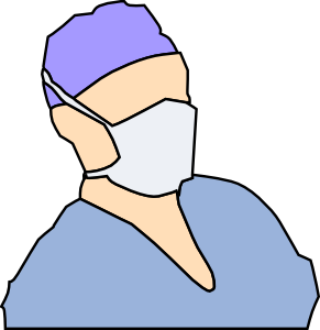 Mask clipart sick And Clipart Free White Doctor