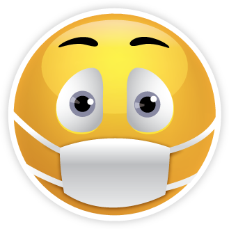 Mask clipart sick Actions and Rondout emoji Cold