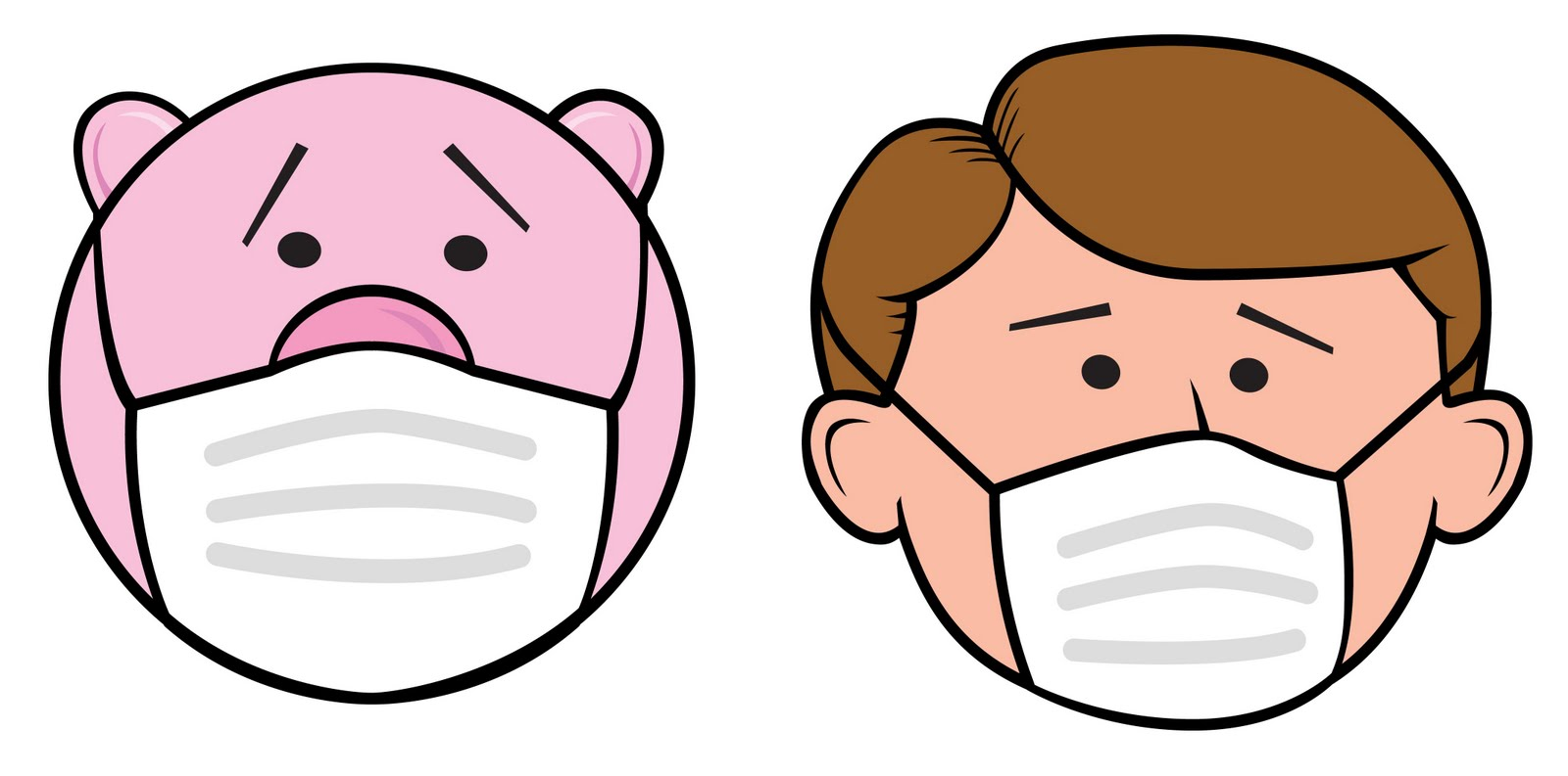 Mask clipart sick Face you SICK? YOU Fingers: