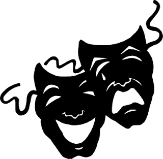 Theatre clipart theater play By images mask 278 Art
