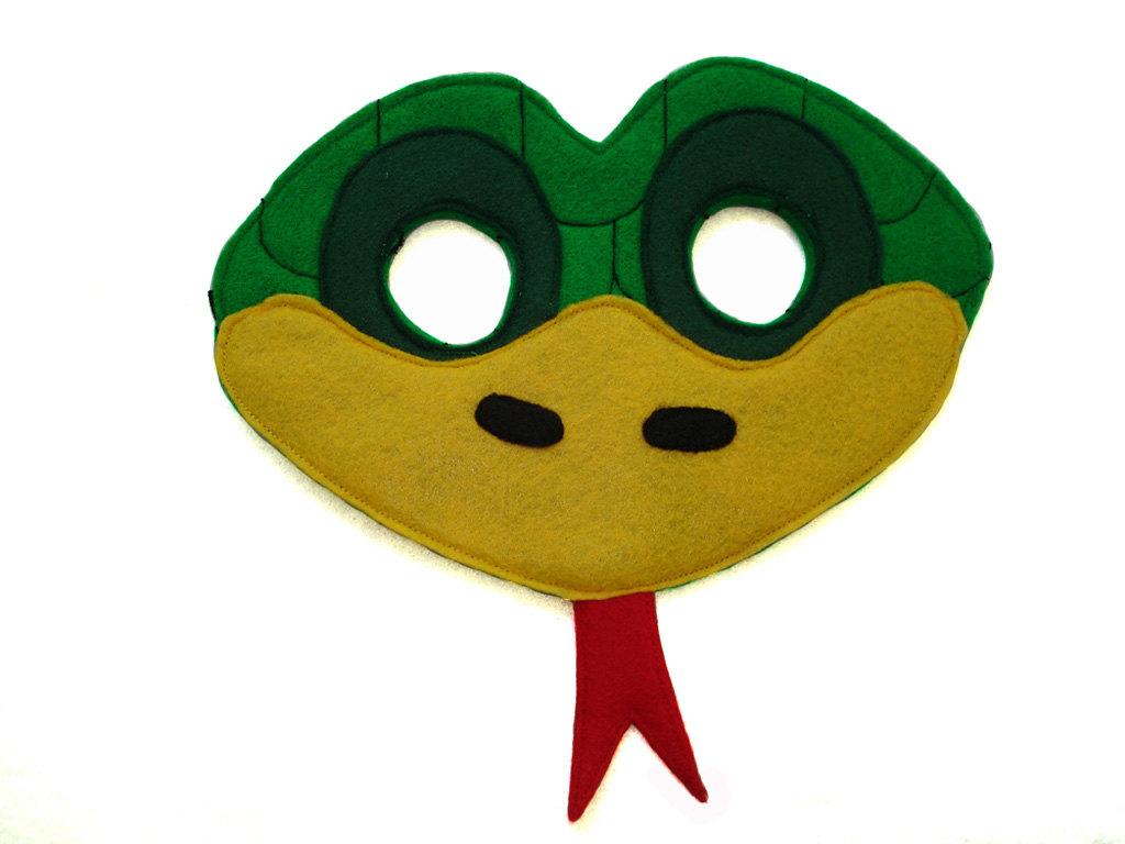 Mask clipart snake SNAKE Felt Like Mask Children's