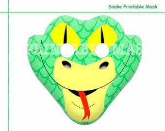 Mask clipart snake Props animal Snake Unique decoration