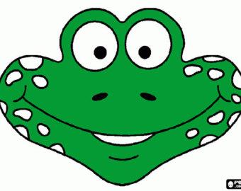 Mask clipart snake Mask Frog snake Costume Kids