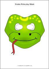 Mask clipart snake SparkleBox 281 Pinterest Snake images
