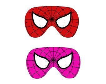 Mask clipart spiderman mask ιδέες on στο for Pinterest