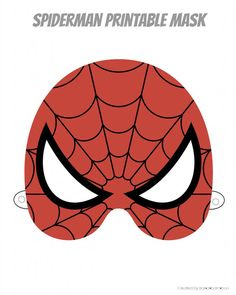 Mask clipart spiderman mask To Face designs printable Clipart