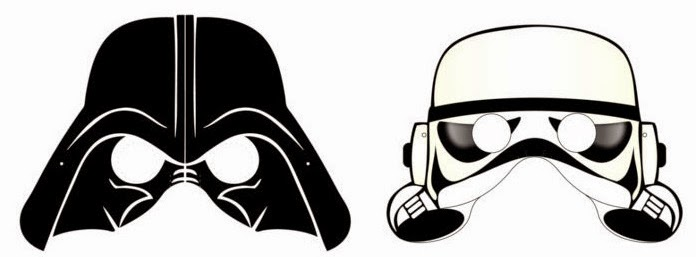 Star Wars clipart mask Free Wars Fiesta! Oh Oh