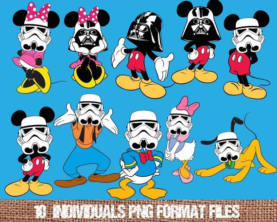 Star Wars clipart mask 15 Mickey wars mask about