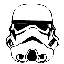 Mask clipart stormtrooper Google Pinterest Search outline Tattoos