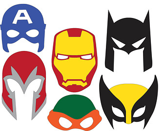 Wolverine clipart mask (SVG Svg files) file Superhero