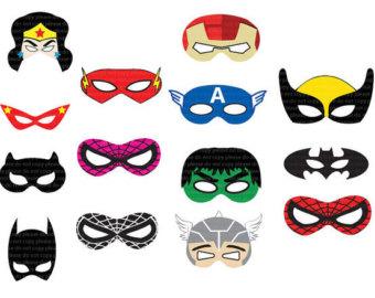 Batgirl clipart rises Panda super%20hero%20mask%20clip%20art Free Hero Art