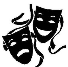 Mask clipart symbol Mask  Clipart Drama mask