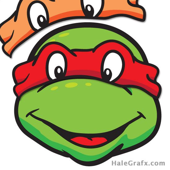 Ninja Turtles clipart classic On mask Printable TMNT Ninja