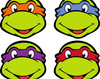 Ninja Turtles clipart printable Logo Ninja Template Turtle Minecraftkemperino9